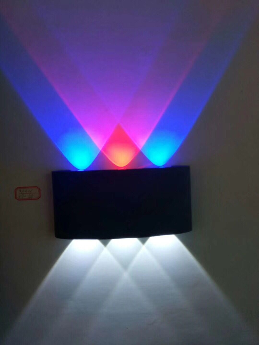 Surface mounted wall Lamps up down LED wall light